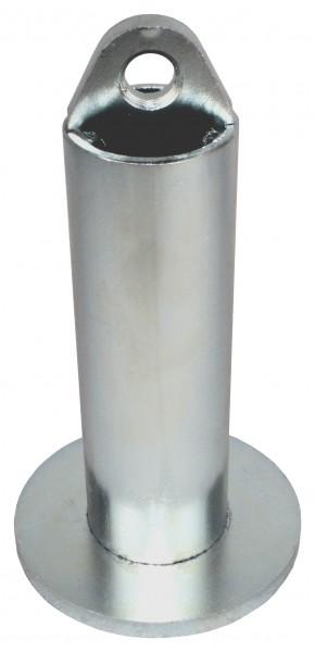 Robert Baraban Loading Pin pour disques olympiques, conception compacte galvanisée, diamètre 50 mm