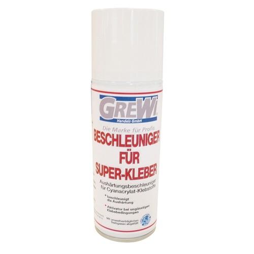 Grewi Superglue Accelerator 200 ml, Activator for Superglue