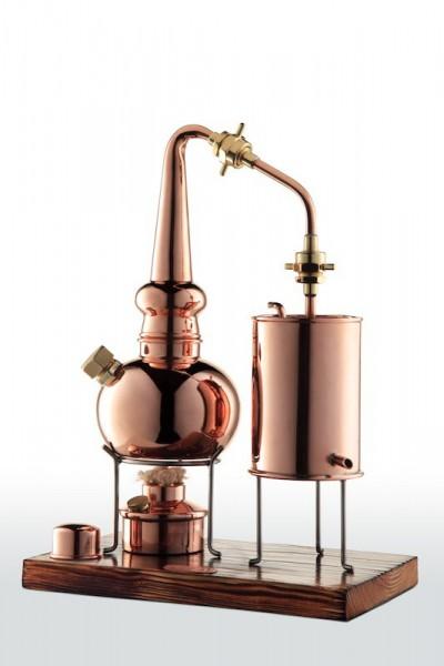 CopperGarden Distillerie de whisky 2 litres, forgée à la main en cuivre, qualité noble suprême