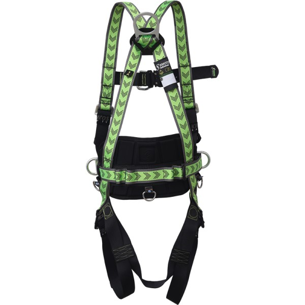 Kratos Body harness 2 attachment points with belt and automatic buckles, PPE, EN361