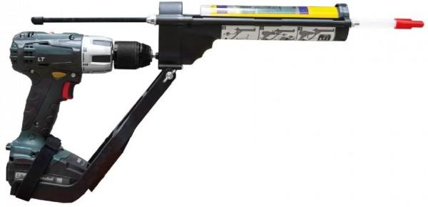 Drill Adapter Gun, Auspress Werkzeug für Kartuschen, Silikonpress Adapter für Akkuschrauber