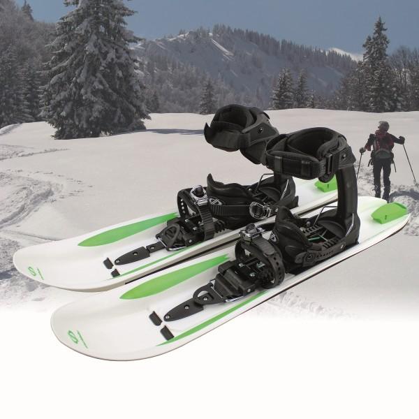 Crossblades Raquettes à neige avec fixation Softboot, Randonnée en raquettes, à ski, des raquettes à neige pour skier!