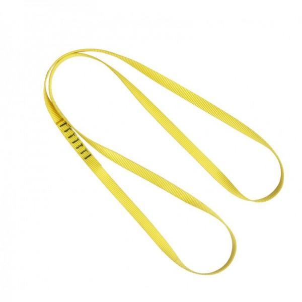 Kratos Bandschlinge für Absturzsicherung, Länge 1,2 m, PSA, CE-zertifiziert, EN795, EN566, gelb