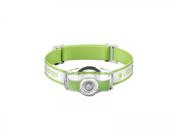Ledlenser Stirnlampe MH3, weiss / grün, Polymethylmethacrylat (PMMA), IP54, 2 m