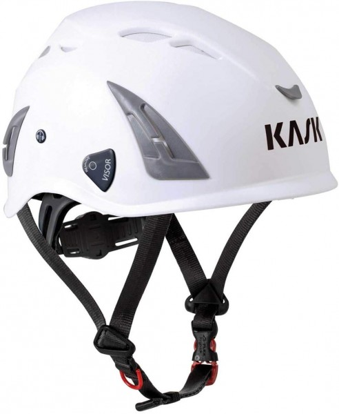 Kask safety helmet, industrial helmet, Plasma AQ, white, with ventilation, universal adjustable, EN397, Size: 51 – 63 cm
