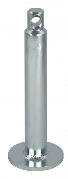 Robert Baraban broche de charge pour tous les disques de poids, compacte, galvanisée, diamètre 25 mm