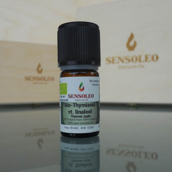 Sensoleo Thyme Oil ct Linalool Bio
