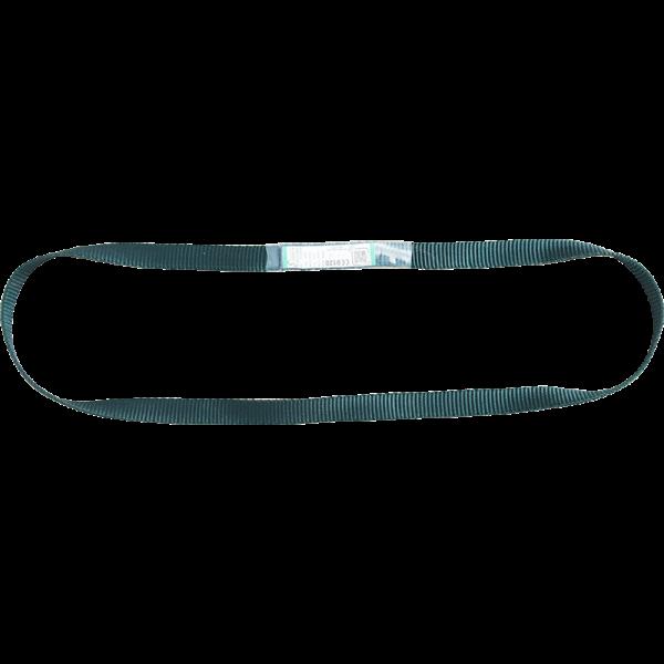Kratos Bandschlinge für Absturzsicherung, Länge 0,60 m, PSA, CE-zertifiziert, EN795, EN566, grün