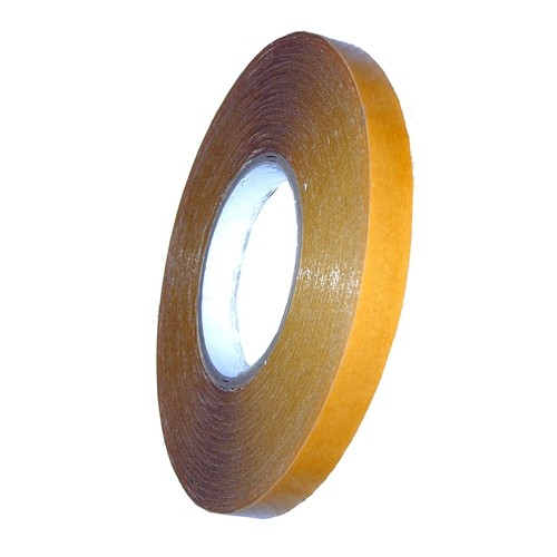 Grewi double-sided adhesive tape thin, Length 50 m, transparent, insensitive to moisture, various widths