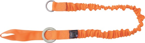 Kratos stretch lanyard for connecting heavy tools, 1,30 m, tool load 10 kg