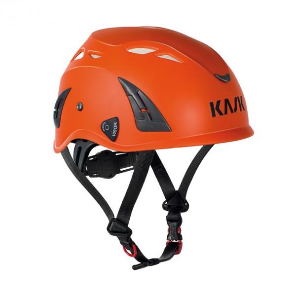 Kask safety helmet, industrial helmet, Plasma AQ, orange, adjustable, EN397, Size: 51 – 63 cm